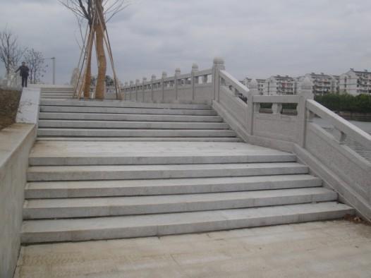 五莲花桥栏板台阶石