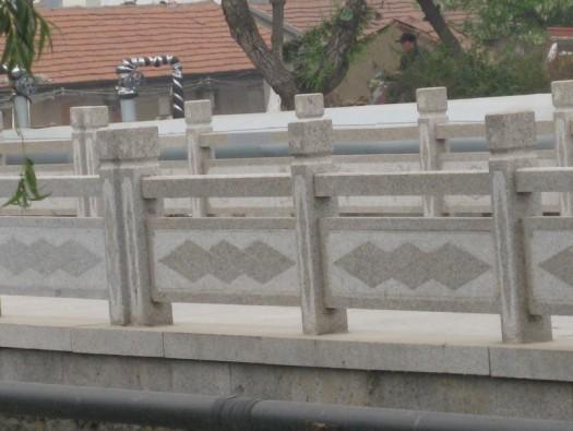 桥梁桥栏板效果图