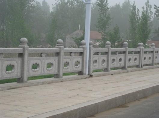 芝麻灰桥栏杆